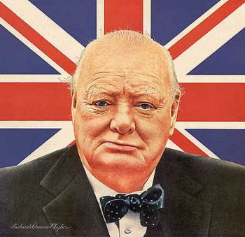 Winston Churchill's Way With Words : NPR