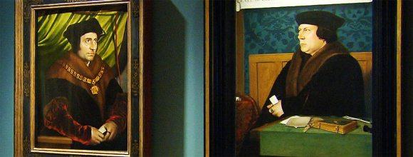 Holbein's portrait of the dark arts master.